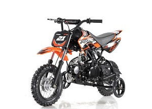 Apollo DB-21 70cc Semi Automatic DIRT BIKE, 4 Stroke Air Cooled