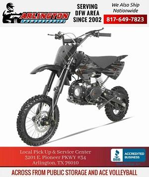apollo high end dirt bike 125cc