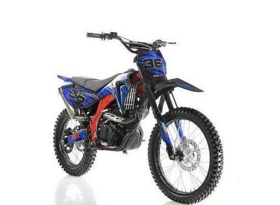 Apollo DB-36 250cc Dirt Bike Special Edition - HIGH END 250CC DIRT BIKE