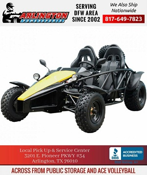 tao go kart 150 cc arrow