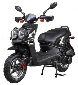 vitacci  ZUMA 50CC Scooter, 49.9cc CVT, Electric/Kick