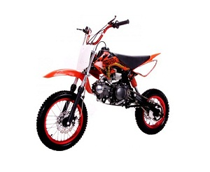 Coolster 125cc Manual Clutch Mid Size Dirt Bike - QG-214