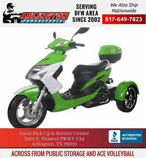 icebear mtb-50 elf model 50cc trike