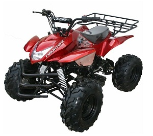 mountain-hd125 mid size  atv with reverse