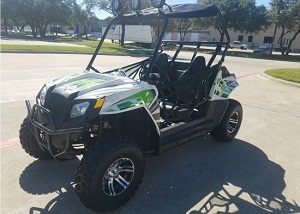 Cazador utv 170cc for adults too!