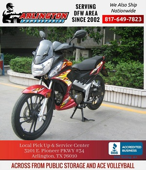 roketa 127cc street warrior street bike