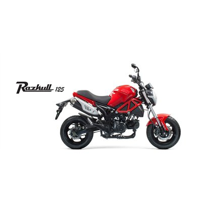 SSR STREET MINI Single Cylinder Razkull 125cc