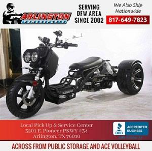 road max ultra 150cc trike