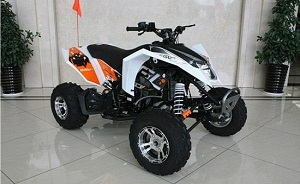 RPS 250 ATV (EGL MOTOR) WATER COOL, 4 SPEED CLUTCH WITH REVERSE, ALLOY WHEELS,  ALLOY MUFFLER