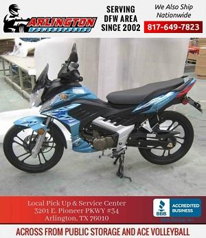 fleetwood series xr-12 - 127cc motorcycle
