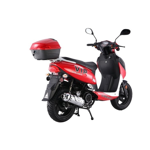 POWER-MAX 150CC SCOOTER COMES WITH FREE MATCHING TRUNK