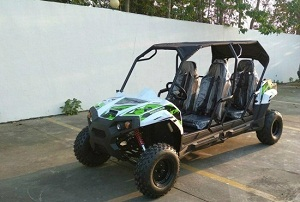 TrailMaster Challenger4 150 4-stroke, Single Cylinder, Air Cooled Four Seater UTV