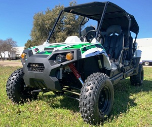 TrailMaster Challenger4 300 EFI UTV, 4-Stroke, Single Cylinder, Water- Cooled