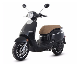 Trail Master Turino 150A Retro Design Scooter Fully Assembled In Crate With Electric and kick start