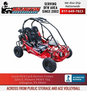 Trail Master Gokart Type MINI XRX-R  (California Legal) FREE SHIPPING