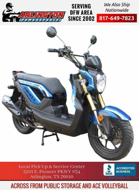 taotao 50cc zummer gas scooter moped