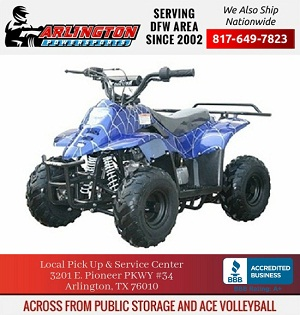 tumbleweed-hd 110cc youth atv, honda clone