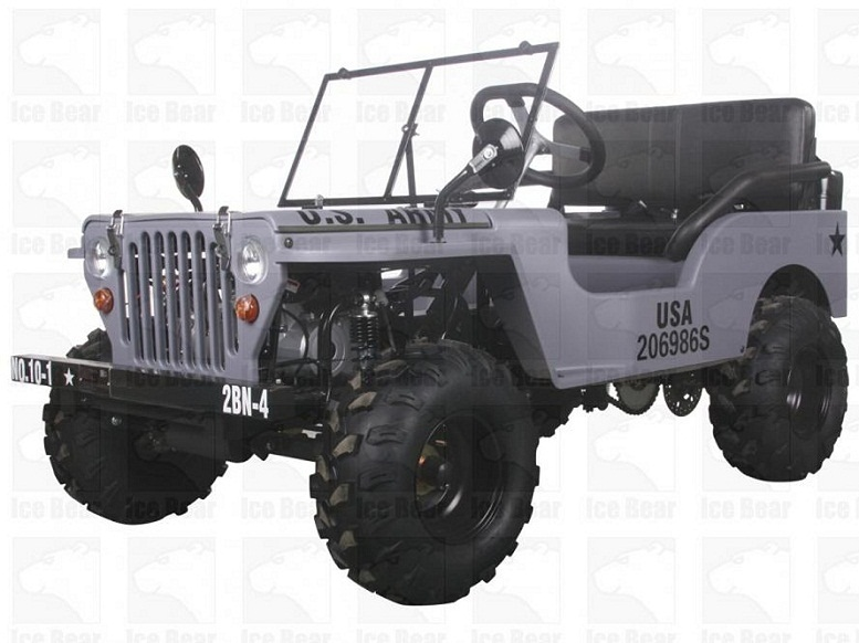 Ice bear Jeep Off-Road